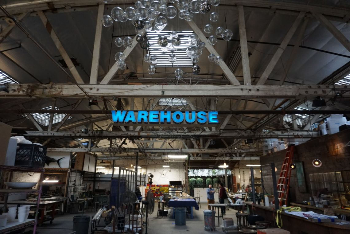 Neptune Glassworks Warehouse